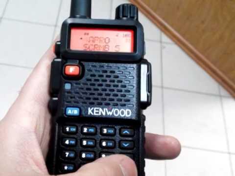 Рация Kenwood TK-UVF8 (полная версия, скремблер