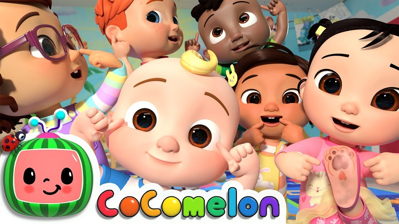 My Body Song | CoCoMelon Nursery Rhymes & Kids Songs