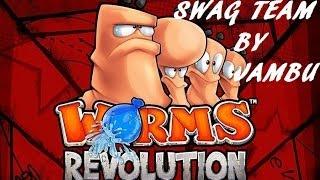 Worms Revolution: Jambu e Franzzz vs Roranz e Alberto (Spaccia meno!)