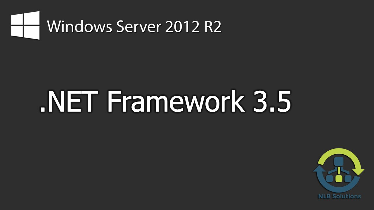 install net framework 3.5 windows server 2012 cmd