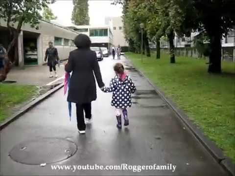 Camilla ThyThy với ông bà ngoại của mình tại Thụy Sĩ