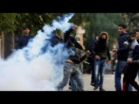 Trump's Jerusalem speech sparks violent Mideast protests
