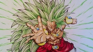 Drawing Broly Legendary Super Saiyan 3 | 50.000 SUBSCRIBERS | GIVEAWAY | PUNISHMENT