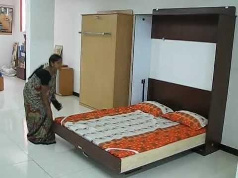 wallbed queen size youtube