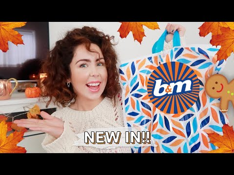 B&M Autumn and Christmas Haul 2019! What's New In B&M!!
