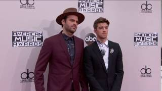 The Chainsmokers (Alex Pall and Andrew Taggart) Fashion - AMAs 2016