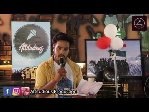 MAHAKAL SHIV SAMBHU||VICKY BHATT|| ATTITUDIOUS OPEN MIC 4.0||