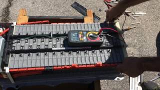 Change Bad Cell On Toyota Prius 2006 HV Battery hybrid