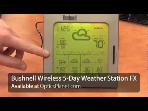 Bushnell 5-Day AccuWeather Weather Station - OpticsPlanet.com