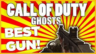 Call of Duty Ghosts: BEST GUN IN THE GAME! (Multiplayer Gameplay)