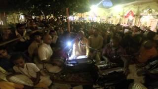 Lokanath Swami Leading Damodarastakam at Iskcon vrindavan