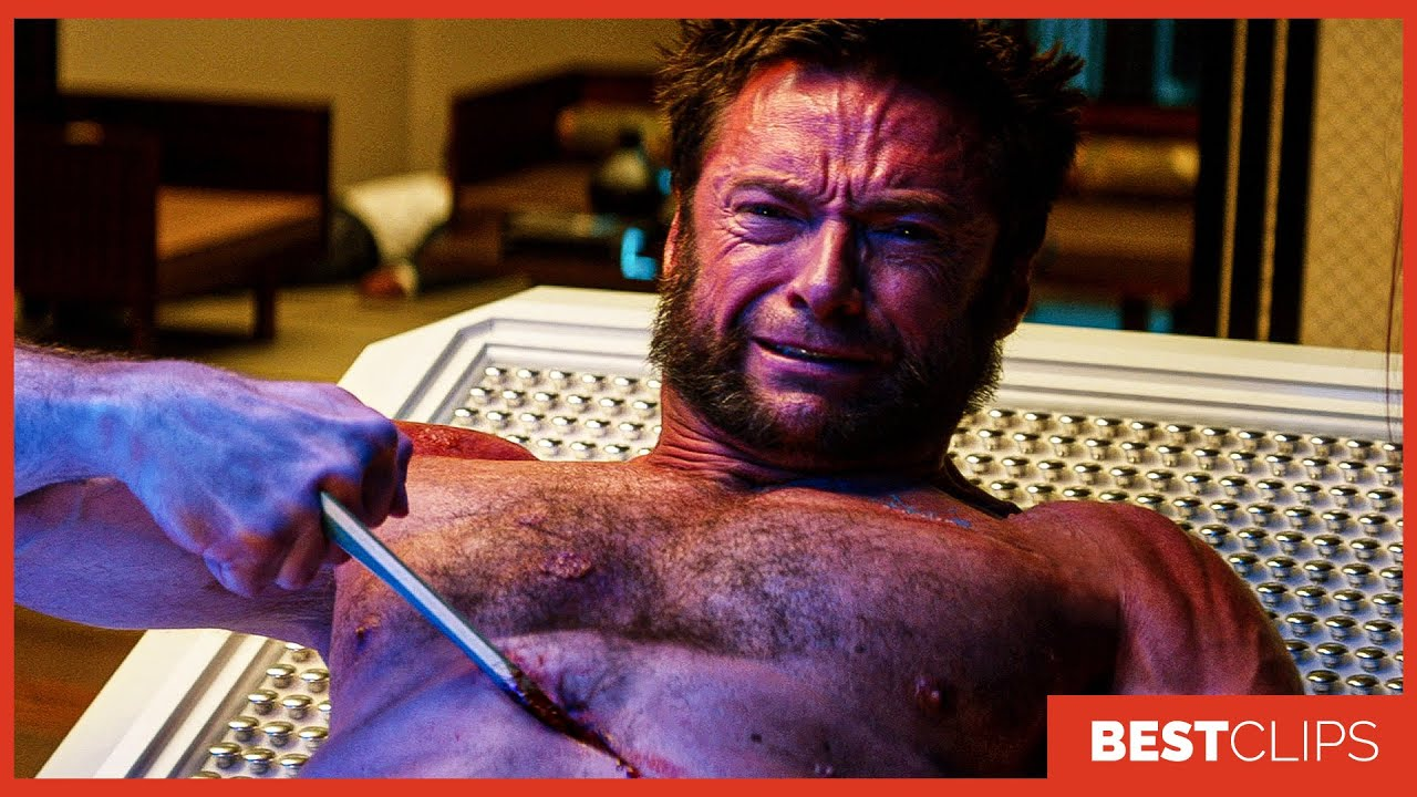 Wolverine's Heart Parasite Scene - Yukio vs Shingen | The Wolverine (2013) Movie CLIP 4K