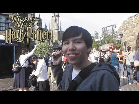 มีความสุขที่สุดในชีวิต!! เที่ยวสวนสนุก Universal Studios Japan เมืองแฮร์รี่ พอตเตอร์~!!!