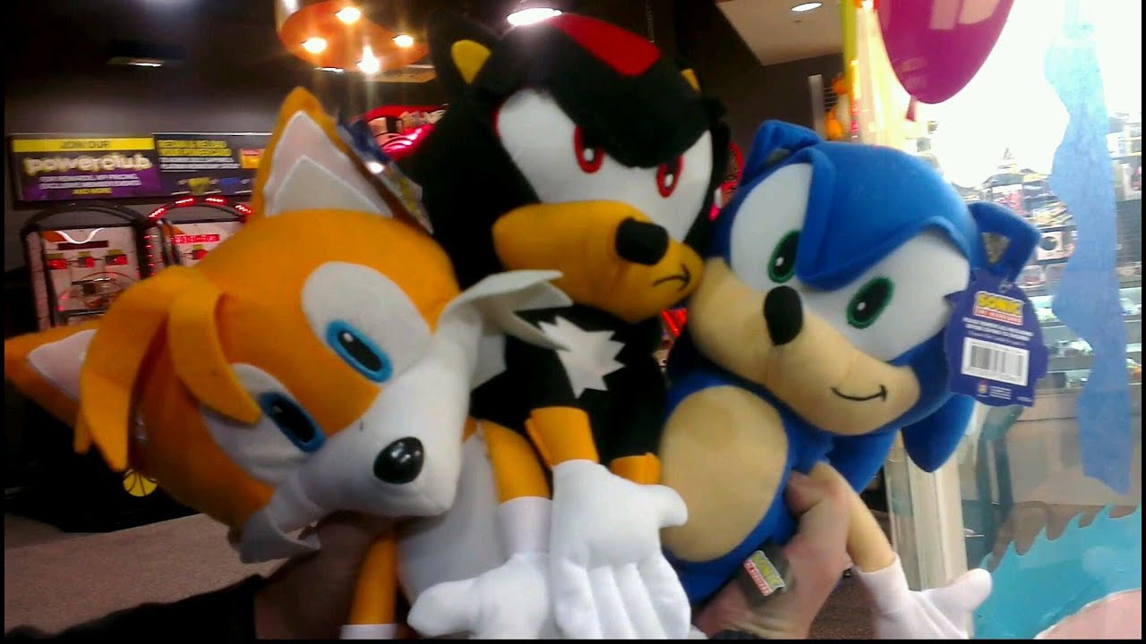 The SUPER DOOPER SONIC Collection Claw Machine Video ...