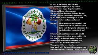 """Video Belize National Anthem """"Land Of The Free"""" INTRUMENTAL with lyrics download MP3, 3GP, MP4, WEBM, AVI, FLV Juni 2018"""