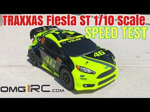 How FAST Is The TRAXXAS 1/10 Scale Ford Fiesta® ST Rally
