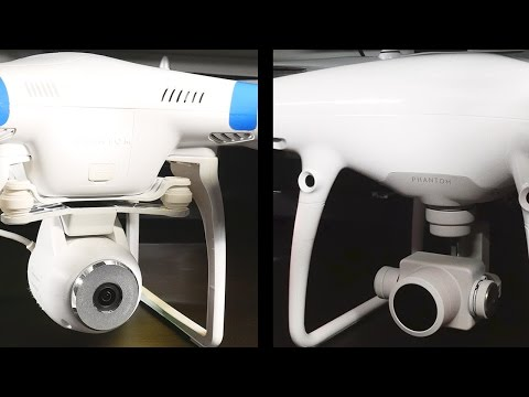 Phantom 4 Pro vs. Phantom 2 Vision Comparison!