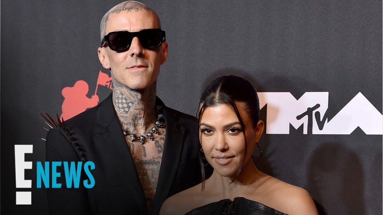 Kourtney Kardashian & Travis Barker REACT to Kim's