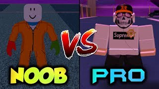 NOOB VS PRO (Jailbreak Edition) [Roblox Funny Fails]