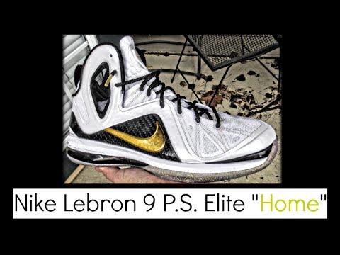 sale retailer 5ba10 446a0 Nike Lebron 9 P.S. Elite