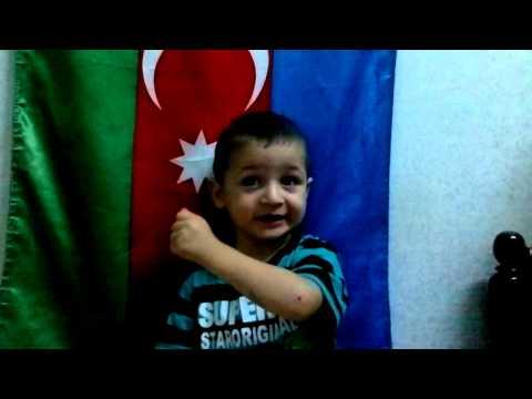 Azeri 3 yasli usaq. Esger Marsi! ^ ^ )) ☺