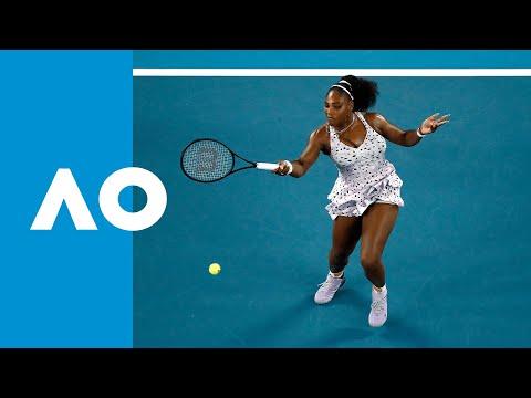 Tamara Zidansek Vs. Serena Williams - Match Highlights (2R) | Australian Open 2020