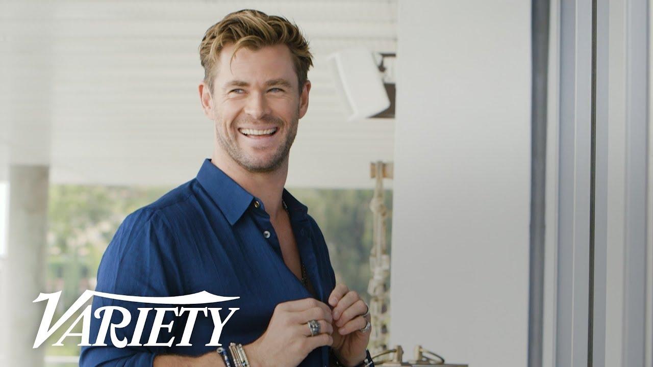 Chris Hemsworth Talks Shark Attacks and Working with Tessa Thompson on 'Men In Black: International'