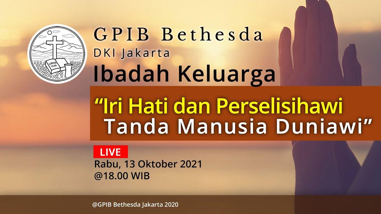 Ibadah Keluarga (13 Oktober 2021)