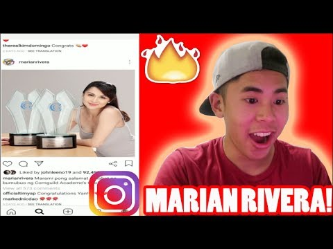 Marian Rivera Instagram Raid! (My Favorite Filipino Actress?!?!) - 동영상