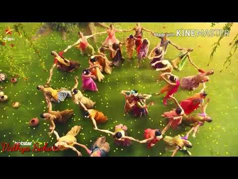 Radha Krishna Song Mix With Radhai Manathil Song