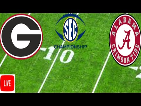SEC Championship Game Live | #1 Alabama Vs. #4 Georgia Live Reaction | College Football