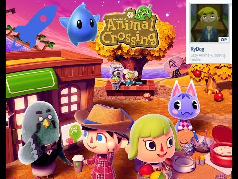 Animal crossing new leaf NTR plugin 4.0 beta 2 showcase!