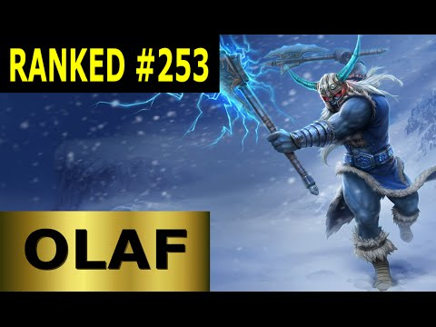 Olaf Jungle - Full League of Legends Gameplay [German] Let's Play LoL - Ranked #253