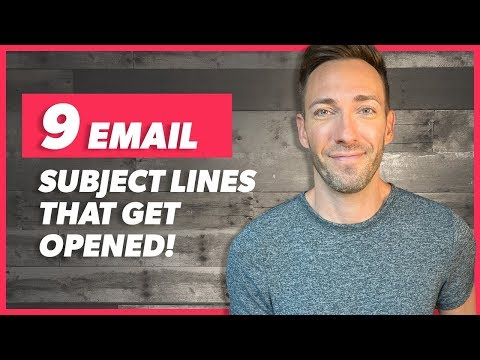 Email Subject Lines That Work