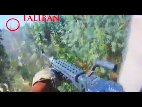 M240 HELMET CAM FIREFIGHT IN AFGHANISTAN | FUNKER530