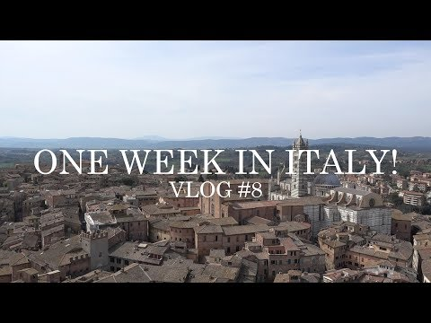 VLOG 8# ONE WEEK IN ITALY