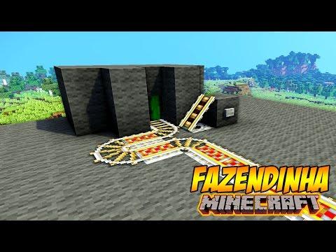 Sistema Automático De Trilhos Minecraft | Fazendinha Vordex #145