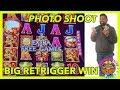 BIG BUFFALO HIT 🥁 DD RETRIGGER & 📸 PHOTO SHOOT @ Graton Casino | NorCal Slot Guy
