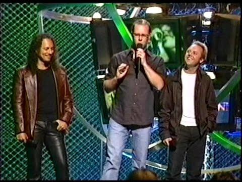 Metallica's James, Lars & Kirk at MTV Icon - Aerosmith (2002) [TV Broadcast]