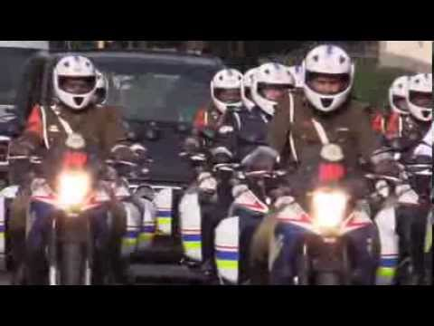 Nelson Mandela's body transported to Union Buildings