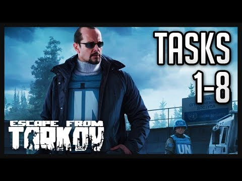 Peacekeeper Tasks (1-8) Guide  - Escape from Tarkov