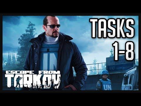 Peacekeeper Tasks (1-8) Guide  - Escape from Tarkov