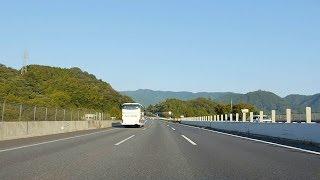 中央自動車道 下り 相模湖IC - 上野原IC - 談合坂SA [車載動画 2013/10] K04