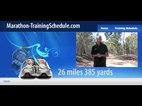 Marathon training schedule Advanced EASY RUN