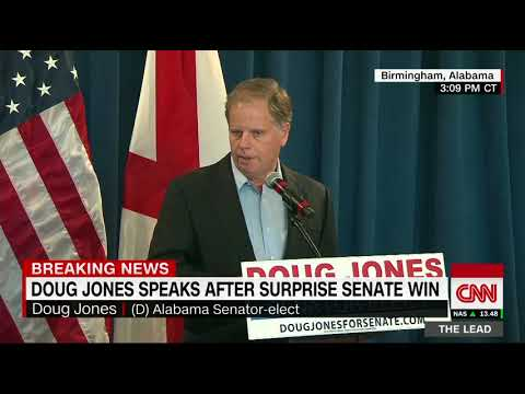 Jones received calls from Trump, Senate GOP