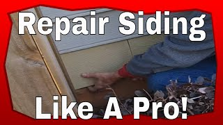 How To Repair Siding