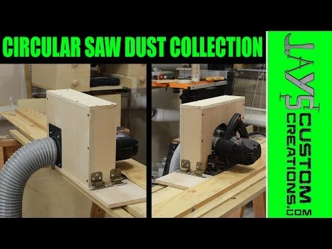 Adding Dust Collection To A Circular Saw - 138