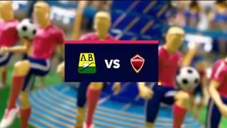 Bucaramanga vs Patriotras - Mejores jugadas - Fecha 7 - Liga Aguila II   2018