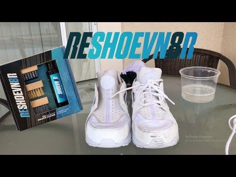 How To Restore White Nike Huaraches (RESHOEVN8R)