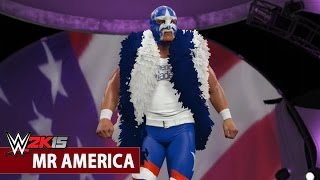 WWE 2K15 Community Showcase: Mr. America (PlayStation 4)